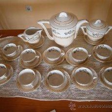 Antigüedades: PRECIOSO JUEGO DE CAFE-TE. OCHIES - MOULIN DES LOUPS. LISTO PARA USAR. Lote 30855843