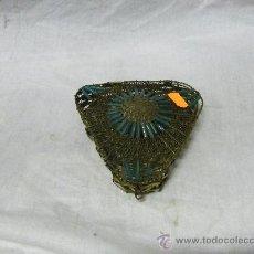 Antigüedades: CAJITA JOYERO METALICA. Lote 30883184