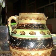 Antigüedades: JARRA BANDAS DE PUENTE DEL ARZOBISPO, TOLEDO. S.XIX:. Lote 30884267