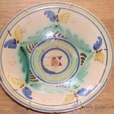 Antigüedades: PLATO PUENTE DEL ARZOBISPO. TOLEDO. S.XIX PPIOS DEL XX. .. Lote 30884526