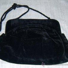 Antigüedades: BOLSO ANTIGUO DE TERCIOPELO. Lote 139324430