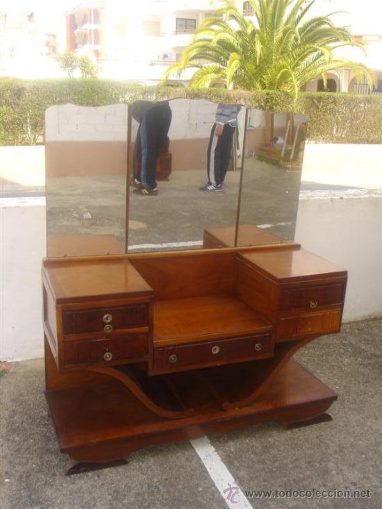 Mueble tocador en madera de casta o estilo arde comprar - Madera de castano ...