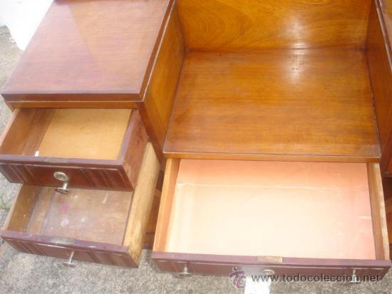 Antigüedades: mueble tocador en madera de castaño estilo Ardeco - Foto 5 - 113487139