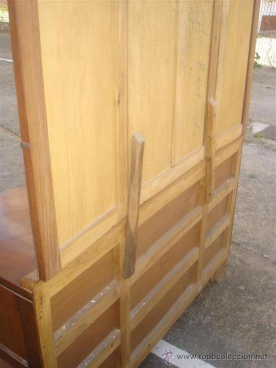 Antigüedades: mueble tocador en madera de castaño estilo Ardeco - Foto 6 - 113487139