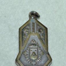 Antigüedades: RELICARIO DE METAL PLATEADO - JOAQUINA DE VERDUNA-. Lote 30974860