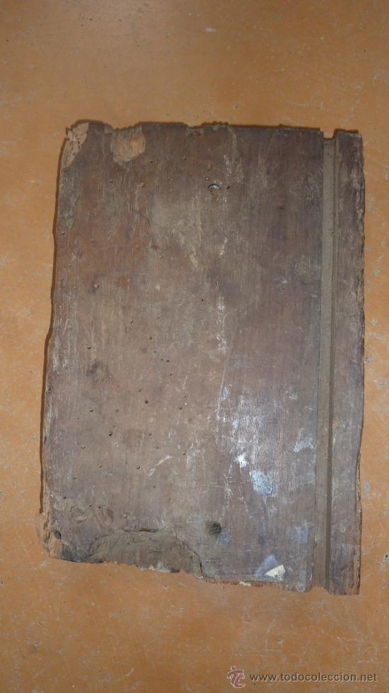 Antigüedades: Pareja de apliques de pared barrocos, originales de s.XVIII. En madera tallada. - Foto 10 - 30990990