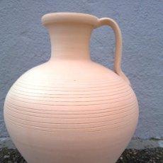 Antigüedades: PRECIOSO CANTARO DE BARRO. Lote 30984674
