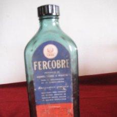 Antigüedades: FRASCO DE FARMACIA ANTIGUO - FERCOBRE LABORATORIOS LASA.. Lote 30989210