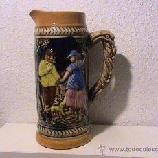 Antigüedades: JARRA DE CERVEZA ALEMANA. Lote 30989531