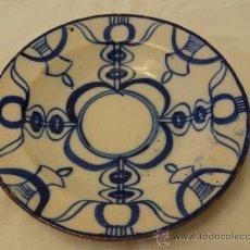 Antigüedades: MANISES XIX PLATO. Lote 31004742