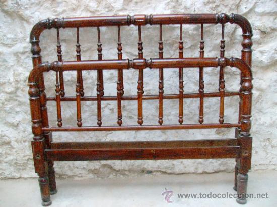 Cama antigua de matrimonio comprar camas antiguas en - Camas de forja antiguas ...