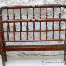 Antigüedades: CAMA ANTIGUA DE MATRIMONIO.. Lote 31005397