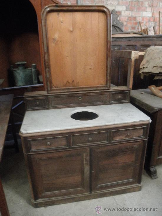 Ntiguo mueble para el lavabo comprar muebles auxiliares antiguos en todocoleccion 31010154 - Muebles para el lavabo ...