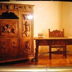 Antigüedades: DESPACHO ESTILO RENACIMIENTO ESPAÑOL EN MADERA DE CASTAÑO. Lote 138249358