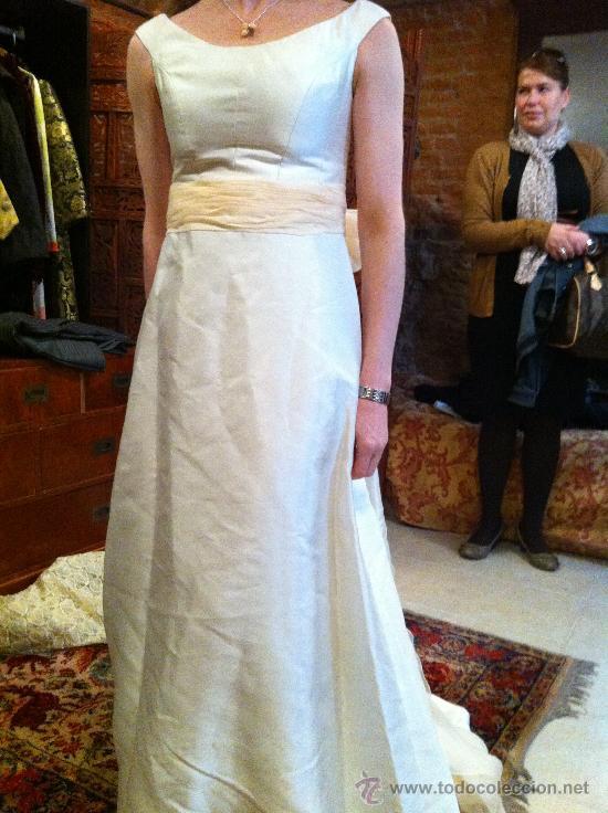 espectacular vestido de novia lorenzo caprile - vendido en venta