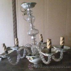 Antigüedades: LAMPARA ARAÑA CRISTAL. Lote 42355357