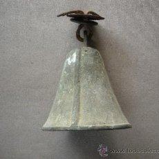 Antigüedades: CAMPANA DE CANCELA PUERTA DE ENTRADA, . Lote 31031885