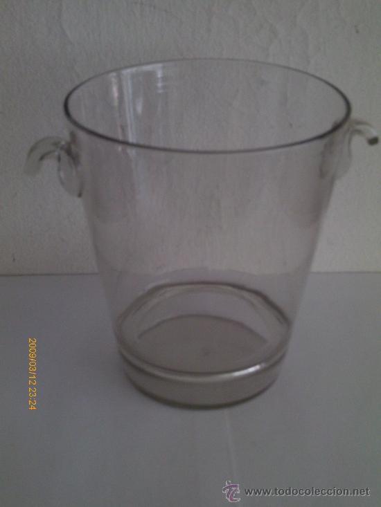 CUBITERA DE CRISTAL DE LA GRANJA (Antigüedades - Cristal y Vidrio - La Granja)