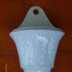 Antigüedades: MACETA - JARDINERA .-CERAMICA VIDRIADA DE PICKMAN LA CARTUJA S.XIX SEVILLA. Lote 31032510