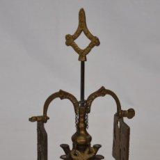 Antigüedades: VELÓN, LUCERNARIO O LAMPARA DE ACEITE.. Lote 31039122
