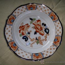Antigüedades: PLATO DE PORCELANA INGLESA WOOD & SONS. Lote 31067257