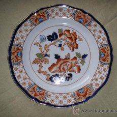 Antigüedades: PLATO DE PORCELANA INGLESA WOOD & SONS. Lote 31067360