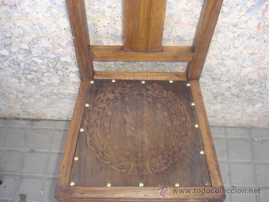 Antigüedades: pequeña silla de madera - Foto 2 - 31085354