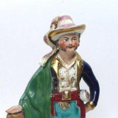 Antigüedades: FIGURA DE PORCELANA DE PERSONAJE. 26 CM DE ALTURA, .. Lote 31093779