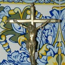 Antigüedades: CRISTO CRUCIFIJO. BRONCE. S XVIII.. Lote 31111374