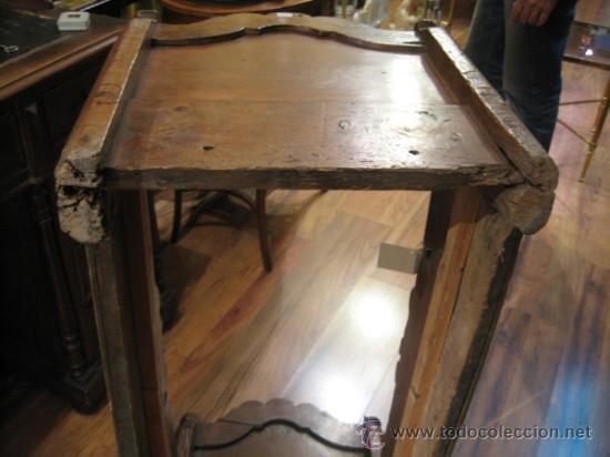 Antigua cuna rustica de madera para beb comprar muebles - Cunas rusticas para bebes ...