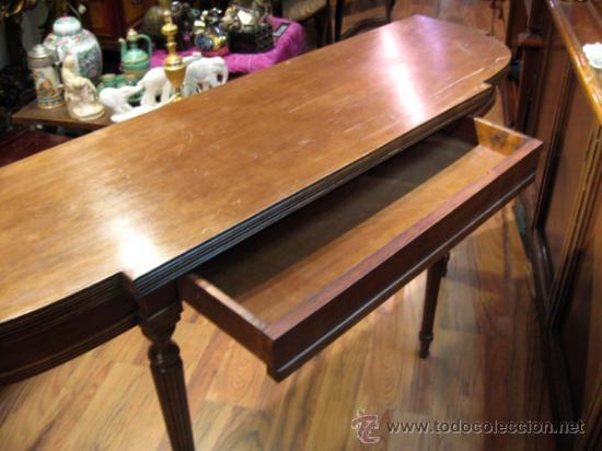 Mesa de comedor plegable tipo libro convertible - Vendido en ...