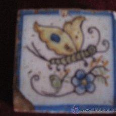 Antigüedades: AZULEJO PINTADO ( OLAMBRILLA ),TECNICA LISA. TALAVERA - PROBABLEMENTE CERAMICA RUIZ DE LUNA.. Lote 31131345