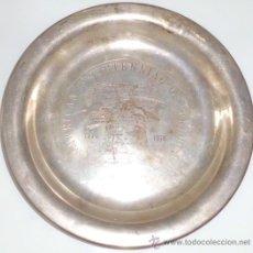 Antigüedades: PLATO DE PLATA , 170GRAMOS , AMERICAN BICENTENNIAL OF FREEDOM 1776-1976. Lote 31144782