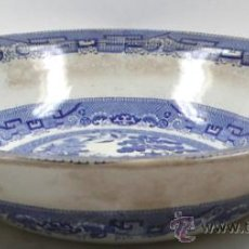 Antigüedades: GRAN PLATO 36 CM DE DIÁMETRO DE CERÁMICA INGLESA 8 CM ALTURA, VER.. Lote 31152147