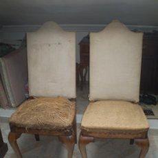 Antigüedades: PAREJA DE SILLAS S XIX. Lote 31161378