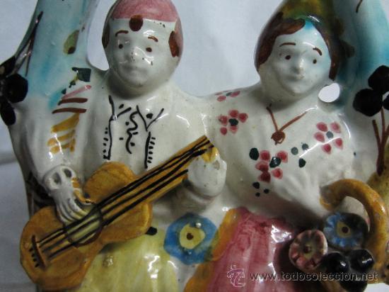 Antigüedades: Bonito botijo típico Valenciano - Foto 4 - 31321667