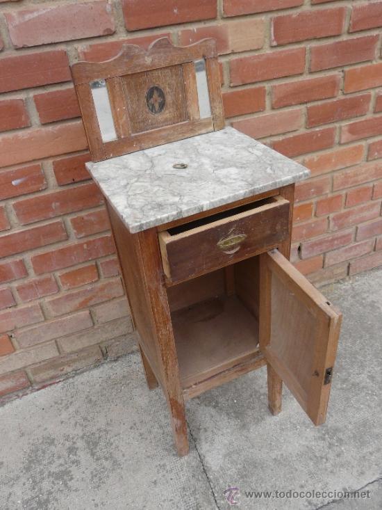 Mesilla antigua para restaurar comprar veladores for Muebles antiguos para restaurar