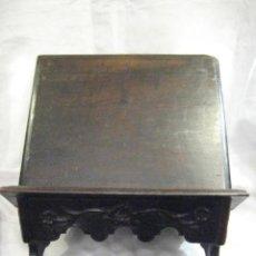 Antigüedades: ATRIL DE MADERA TALLADA S. XVIII - XIX. Lote 92347305