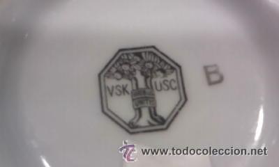 Antigüedades: Precioso y antiguo juego de te Marca viribus unitis VSK USC 36 piezas. - Foto 10 - 31179673
