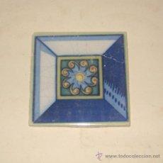 Antigüedades: AZULEJO. MOTIVO GEOMÉTRICO. SEVILLA.. Lote 31227724