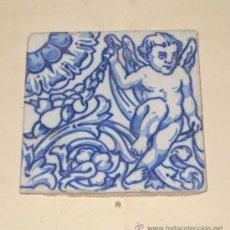 Antigüedades: AZULEJO SEVILLANO. 15 X 15 CM. ORNAMENTAL.. Lote 31227746