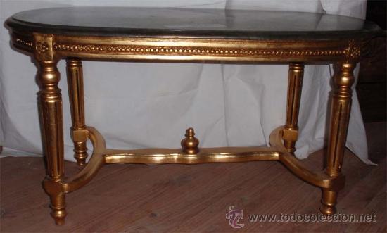Antigüedades: sofa de 3 plazas y mesa . Estilo antiguo. - Foto 7 - 26029807