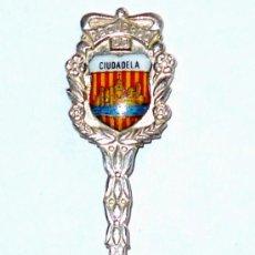 Antigüedades: CUCHARILLA DE PLATA RECUERDO DE CIUDADELA . Lote 45383920