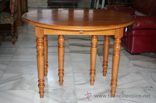 mesa luis felipe, para comedor o auxiliar, con - Kaufen Antike ...