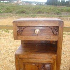 Antigüedades: MESILLA DE CASTAÑO ARTDECO. Lote 31241267