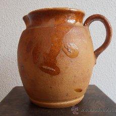 Antigüedades: JARRA DE BARRO , 1500 ML. Lote 31264822