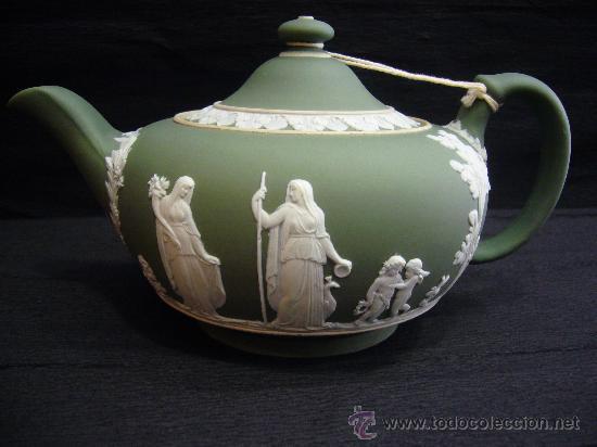 Elegante tetera inglesa de porcelana de wedgwoo comprar - Porcelana inglesa antigua ...