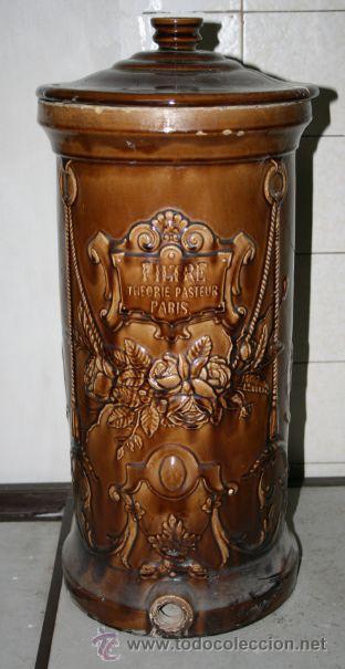 antiguo recipiente filtro de agua teoria de pas comprar porcelana limoges antigua en. Black Bedroom Furniture Sets. Home Design Ideas