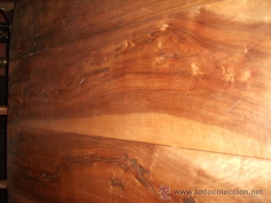 Antigüedades: mesa de comedor isabelina de nogal sxix - Foto 6 - 27219499