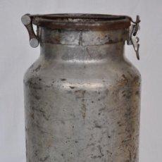 Antigüedades: CÁNTARA DE HIERRO PARA LA LECHE.. Lote 31295054